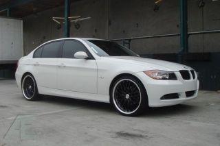18 inch BMW 335xi 335D 335IS 335i Wheels Rims GT1 Gloss Black