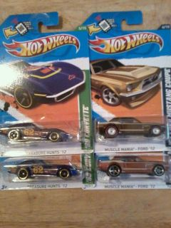 2012 Hot Wheels Super Secret Treasure Hunt 67 Ford Mustang Coupe