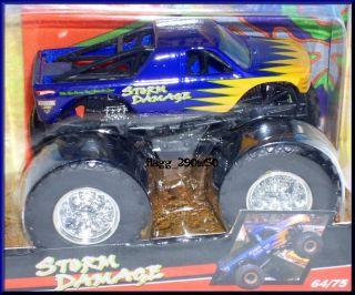 Hot Wheels Monster Jam Truck Storm Damage 64 75 Flag