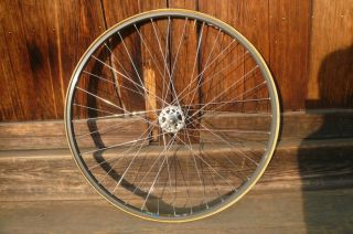 Front Wheel with Campagnolo NJS Hub Mavic Rim