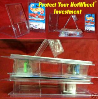 Hot Wheels 61 Plastic Stackable Clam Shell Protectors