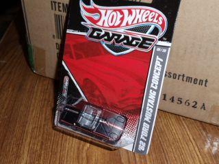 Hotwheels Hotwheels Garage 62 Ford Mustang Concept