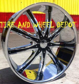 28 inch DW29 Rims Wheels and Tires Escalade Silverado Sierra Tahoe
