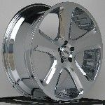 22 Inch Chrome Wheels Rims Chevy Tahoe Suburban 1500 GMC Yukon Truck 6