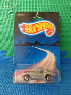 Hot Wheels 1 64 Silver Split Window 63 3985 1986 Hong Kong