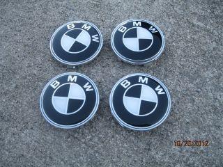 New BMW Set of 4 Peaces Center Wheel Rim Hub Cap 68mm 36136768640 Hubs