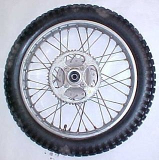 77 Honda CT125 Ct 125 Rear Wheel Rim Sprocket