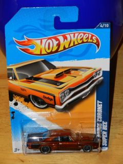 Hot Wheels 69 Dodge Coronet Super Bee 2012 SUPER Treasure Hunt Mystery