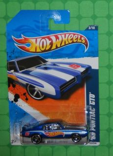 2011 Hot Wheels Racing 153 69 Pontiac GTO 3 10
