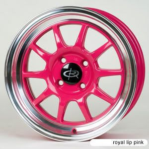 16 Rota Wheels Rims GT3 Pink Fit Miata XA XB Versa MR2