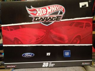 2011 Hot Wheels Garage Ford VS GM 67 Shelby GT500 Mercury Cougar 20