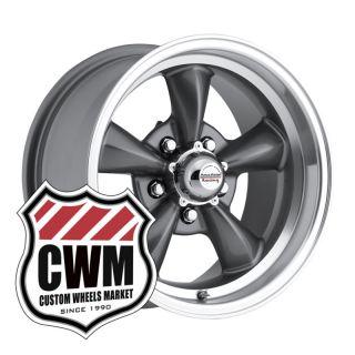 Gray Wheels Rims 5x4 75 Lug Pattern for Pontiac Firebird 67 81