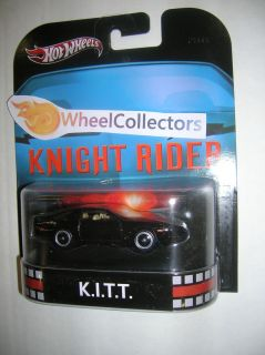 Kitt Knight Rider 2013 Hot Wheels Retro Entertainment 1 64
