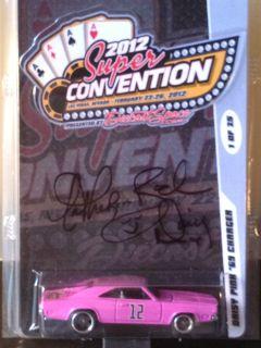 Hot Wheels 2012 Las Vegas Super Convention Signed Daisy Duke 69 Dodge