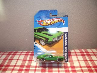 2011 Hot Wheels 72 Ford Gran Torino Sport Muscle Mania Ford 12 Brand