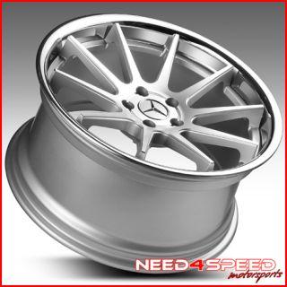 W221 S400 S550 S600 S63 S65 Euromag EM10 Concave Wheels Rims