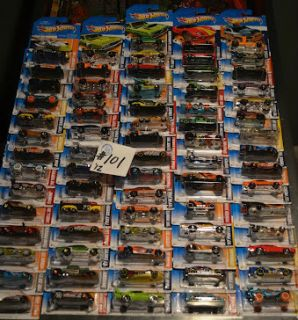 2012 Hot Wheels Mixed Case of 72 Cars Lot 101 Assorted New Cars Sale