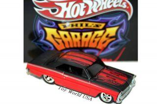 Hot Wheels Phils Garage 66 Chevy Nova 30 Car Set