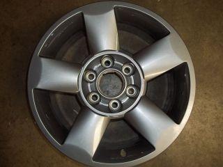 06 Nissan Armada Alloy Wheel Rim 18 Charcoal Take Off Used