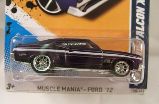 2012 Hot Wheels #120 73 FORD FALCON XB CUSTOM Super Secret Treasure
