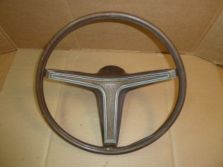 70 71 Mercury Montego Rim Blow Steering Wheel