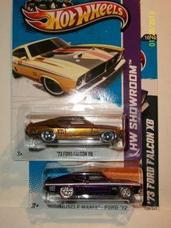 HOT WHEELS SUPER SECRET 2012 2013 TREASURE HUNT 73 FORD FALCON XB SET