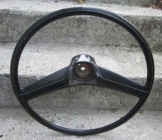 Truck Original Black STEERING WHEEL K 5 Blazer Burb 67 68 69 70 71 C10