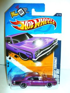 2012 Hot Wheels 084 69 Dodge Coronet Super Bee Muscle Mania Mopar 12
