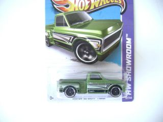 Hot Wheels 2013 Custom 69 Chevy Pickup HW Showroom C Case 161 250