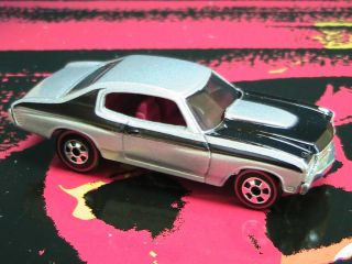 Hot Wheels 70 Chevy Chevelle SS with Redlines Silver