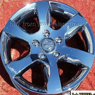 NEW 16 NISSAN ALTIMA OEM CHROME WHEELS RIMS MAXIMA 300ZX 240SX 62479