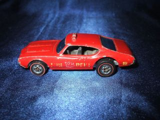 Vintage Diecast Hot Wheels Redline Pre 78 Fire Dept 1969