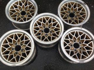 15 x 8 WHEELS 77 81 Pontiac Trans Am snowflake rims WS6 Y88 FIREBIRD T
