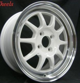 Rota GT3 16x7 5x114 3 ET40 73 1 Hub White Rim Wheels