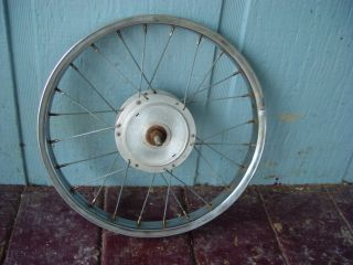 1968 SCHWINN STING RAY 5 SPEED BICYCLE TIRE FRONT WHEEL SPOKE RIM BIKE