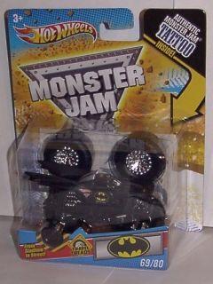 Hot Wheels 1 64 Scale Batman Travel Treads Tattoo Monster Jam Truck 69