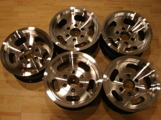 JEEP Wagoneer Aluminum Slot Mag Wheels Rims 6x5 5 6 LUG Nicr thn NOS
