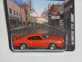 Hot Wheels 2012 Boulevard Series Legends 70 Pontiac GTO Judge Orange