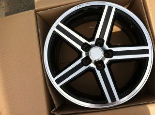 22 Black Wheels Tires 5x115 Chrysler 300 Charger Explorer Challenger