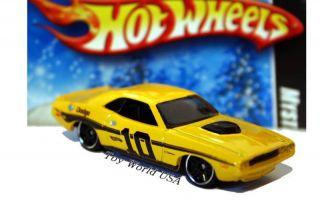 2010 Hot Wheels Mystery Car 219 70 Dodge Challenger