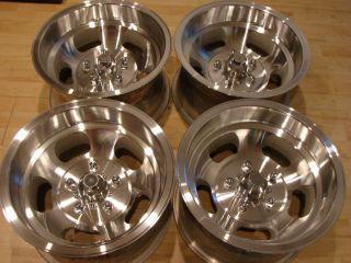 Vintage 70s 15x8 1 2 Slot Mags Wheels Rims GMC Chevy Van Truck 1500