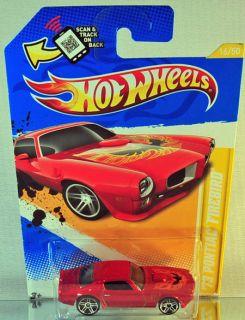 Hot Wheels 73 Pontiac Firebird 2012 New Models DK Orange
