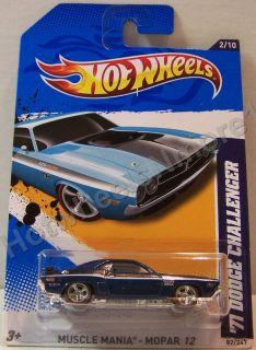 Super Treasure Hunt 2012 Hot Wheels 71 Dodge Challenger