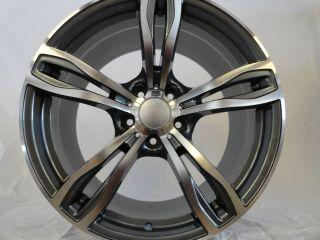 20 BMW M5 F10 Replica Sport Wheels Rims 5 6 7 8 Series Machined w