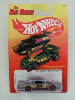 Hot Wheels The Hot Ones 84 Pontiac Grand Prix Gray