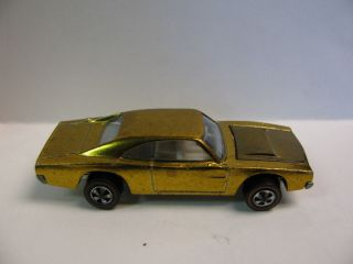 Hot Wheels Redline Custom Dodge Charger Gold Loose