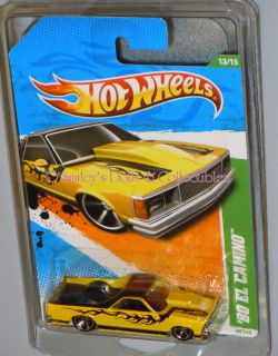 Hot Wheels 2011 Treasure Hunt 80 El Camino T9733 MOC New