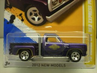 HOT WHEELS, 78 DODGE LIL RED EXPRESS PICK UP TRUCK, 2ND PAINT SKIN