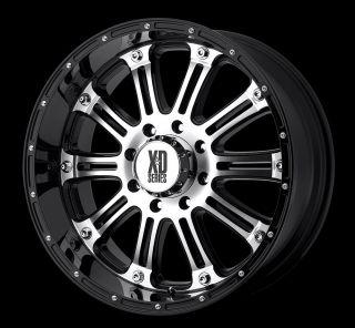 Black MCH Rims Tires 8x165 Hummer Chevy Dodge Nitto Trail Mud 285 70