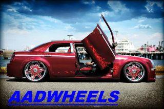 22 Diablo Elite Wheel Rims TIRES7 inch Lip for Camaro